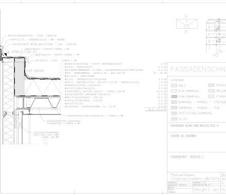 Detailplanung – Querschnitt